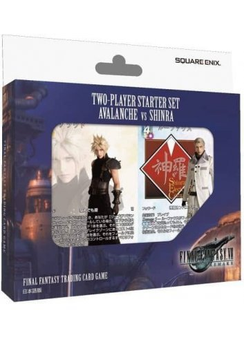 FF-TCG Two-Players Starter Set Avalanche VS Shinra (Japanese Ver.) FF-TCG Two-Players Starter Set Avalanche VS Shinra (Japanese
