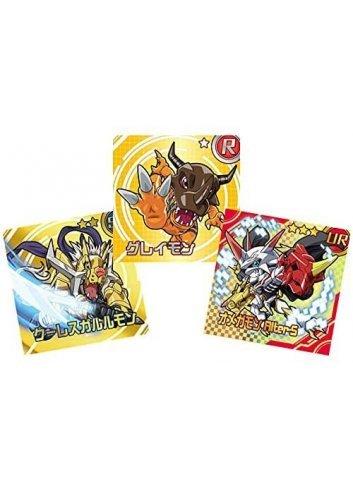 Digimon Sticker Chocolate Snack (Box / 20 pieces)