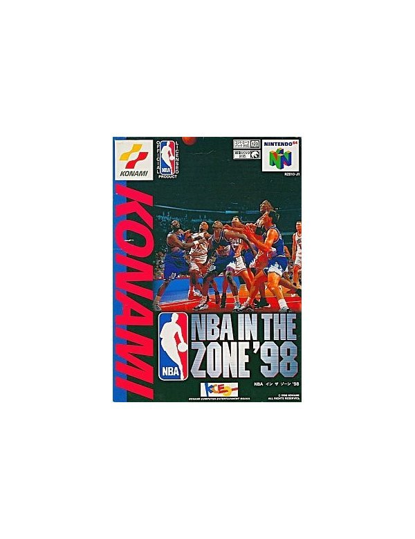 NBA IN THE ZONE'98