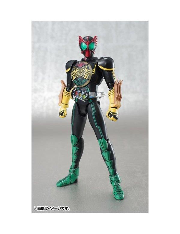 S H Figuarts Kamen Rider OOO Tatoba Combo | Bandai