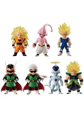 Dragon Ball Adverge 10 -Set complet- (7 Figurines)