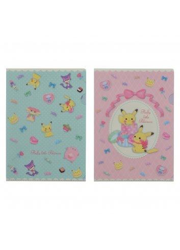 A4 Clearfile (x2 set) fluffy little pokémon