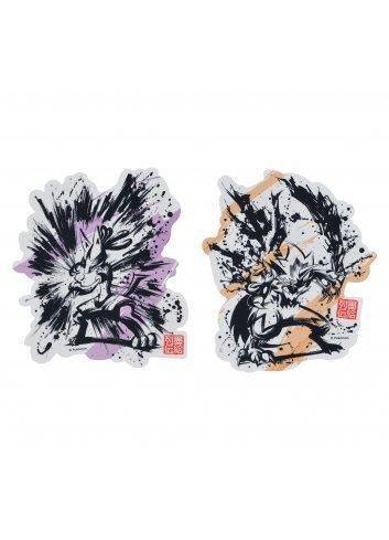 Sticker (x2 set) Sumie Retsuden Lucario & Zeraora