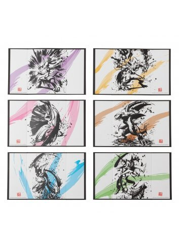 Mini Folding screen Collection Sumi Retsuden
