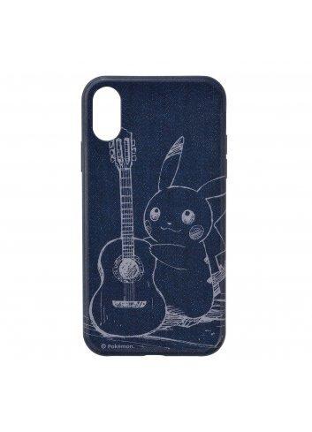 Soft Jacket for iPhone XR Pikachu Denim