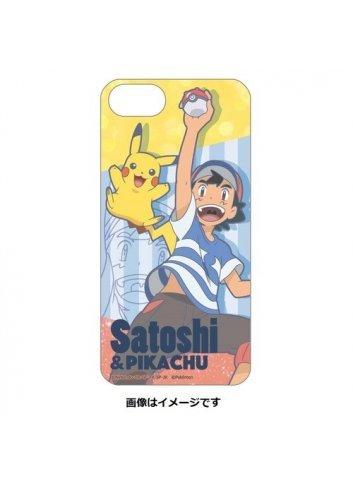 iPhone8/7/6s/6 Hard Case Satoshi & Pikachu   Ash Ketchum &