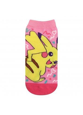 Short Socks Carax Pikachu (Pink)