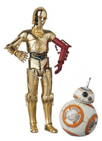 MAFEX C-3PO & BB-8