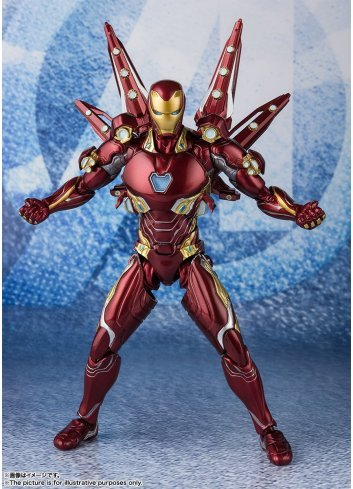 S.H.Figuarts Iron Man Mark 50 Nano Weapon Set 2 (Avengers: Endgame)