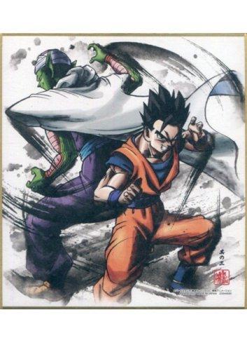 Dragon Ball Shikishi ART4 - 3. Piccolo & Son Gohan