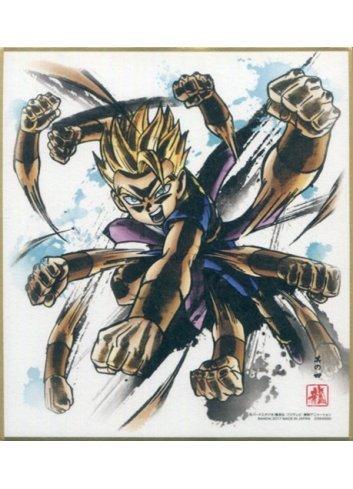 Dragon Ball Shikishi ART4 - 4. Super Saiyan Kyabe