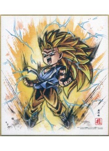 Dragon Ball Shikishi ART4 - 7. Super Saiyan 3 Son Goku