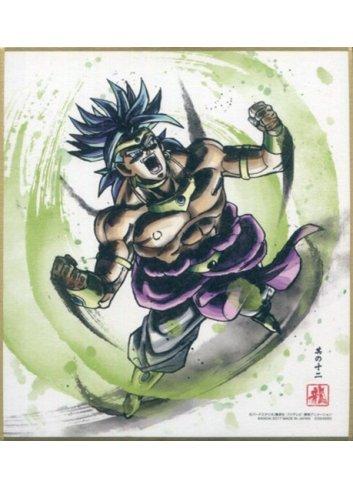 Dragon Ball Shikishi ART4 - 12. Super Saiyan Broly