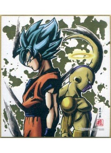 Dragon Ball Shikishi ART4 - 15. Super Saiyan God Super Saiyan