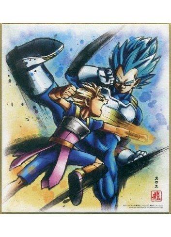 Dragon Ball Shikishi ART5 - 3. Super Saiyan God Super Saiyan