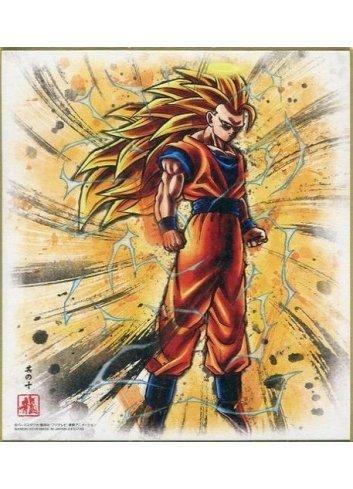 Dragon Ball Shikishi ART5 - 10. Super Saiyan 3 Son Goku