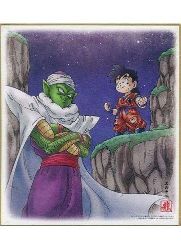 Dragon Ball Shikishi ART5 - 12. Piccolo & Son Gohan