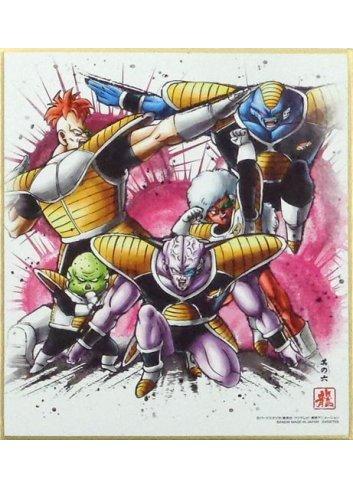 Dragon Ball Shikishi ART7 - 6. Ginyu Toku Sentai