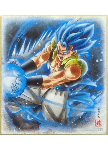 Dragon Ball Shikishi ART7 - 12. Super Saiyan God Super Saiyan
