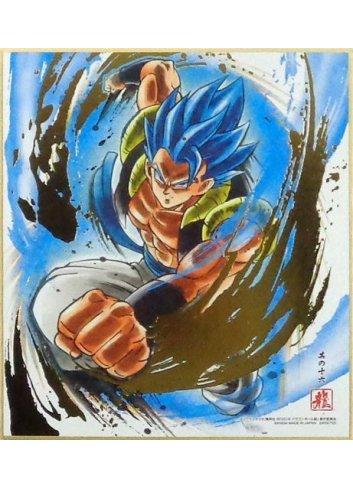 Dragon Ball Shikishi ART7 - 16. Super Saiyan God Super Saiyan