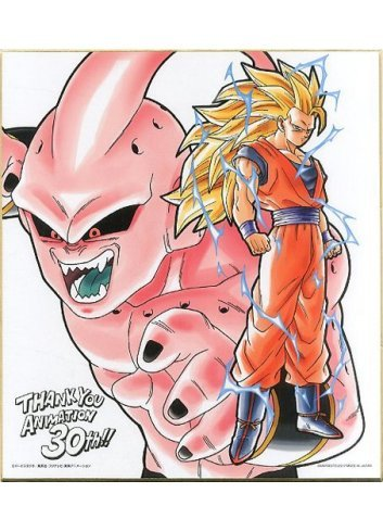 Shikishi IroColle Dragon Ball ~Anime 30th anniversary~ Goku &