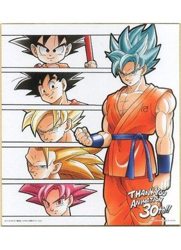 Shikishi IroColle Dragon Ball ~Anime 30th anniversary~ Son Goku