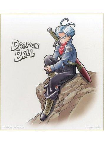 Shikishi IroColle Dragon Ball ~Saiko no Senshitachi~ Trunks