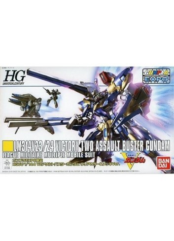 LM314V23/24 Victory Two Assault-Buster Gundam (Clear Color and