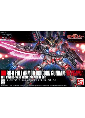 RX-0 Full Armor Unicorn Gundam (Destroy Mode/Red Color Ver.)