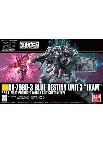 RX-79BD-3 Blue Destiny Unit 3 EXAM