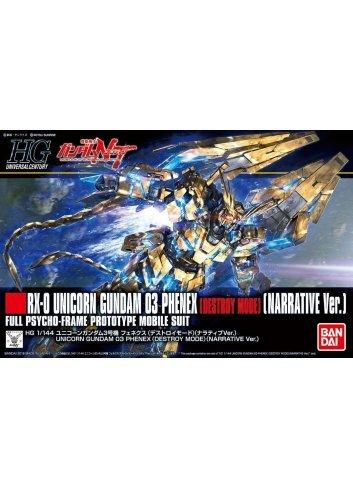 RX-0 Unicorn Gundam 03 Phenex (Destroy Mode) (Narrative Ver.)