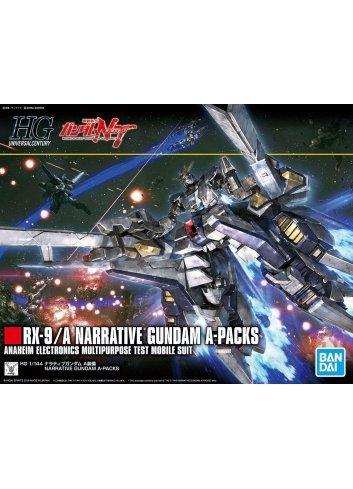 RX-9/A Narrative Gundam A-Packs