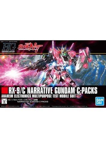 RX-9/C Narrative Gundam C-Packs