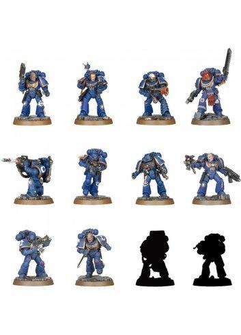 Warhammer 40,000 Space Marine Heroes Series 1 (x24 figures)