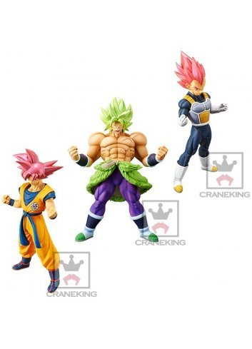 Goku & Vegeta & Broly (Choukoku Buyuuden)