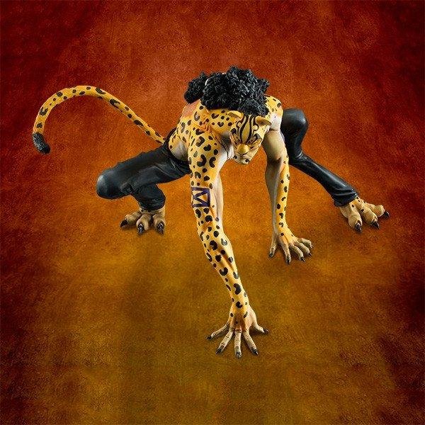P.O.P MAS  - Rob Lucci Ver. Leopard   Megahouse