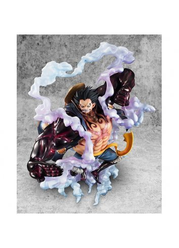 P O P Sa Maximum Monkey D Luffy Gear 4 Megahouse Of course gear 4luffy is stronger than night mare luffy because gear4luffy has armament haki and king's haki. p o p sa maximum monkey d luffy gear 4