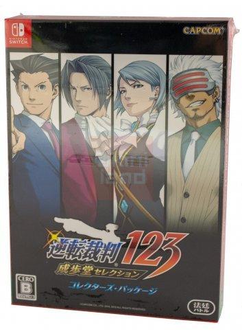 Gyakuten Saiban 123: Naruhodo Selection (Collector's Box)