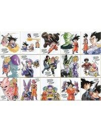 Shikishi IroColle Dragon Ball ~Anime 30th anniversary~  (Full Set - x15 cards)