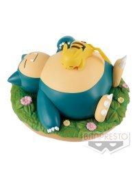 Pikachu & Kabigon   Snorlax