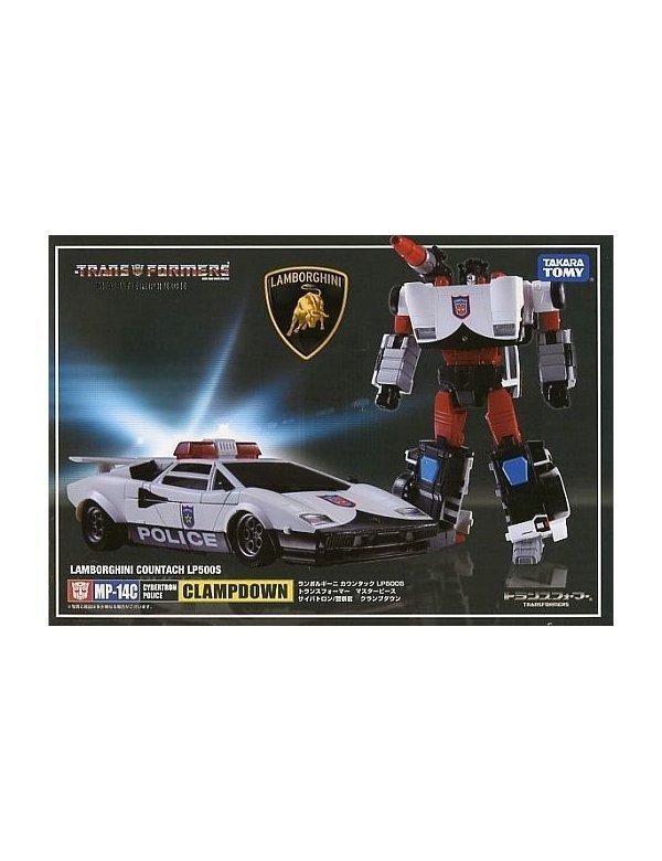 TAKARA TOMY Transformers Masterpiece MP-14C CLAMPDOWN Lamborghini Action Figure