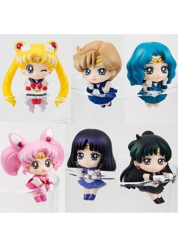 Ocha Tomo - Sailor Moon Cosmic Heart Cafe (x6 figurines set)