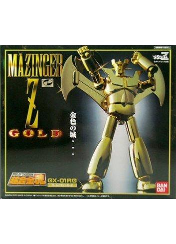 Soul of Chogokin GX-01RG - Gold MazingerZ -