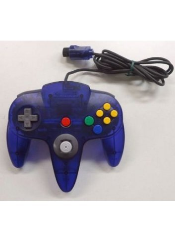 Controller N64 Midnight Blue -Loose-
