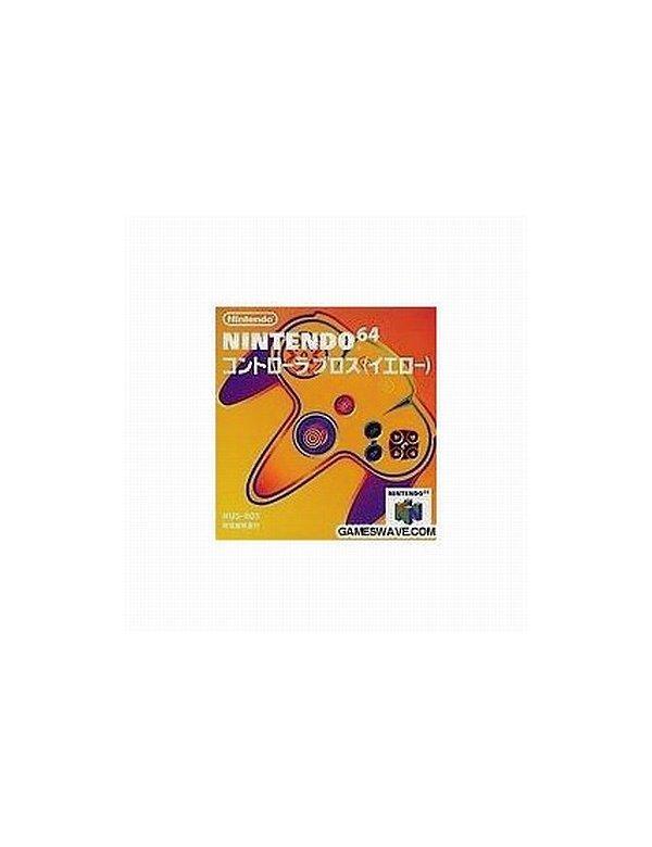 Controller N64 Yellow -Loose-