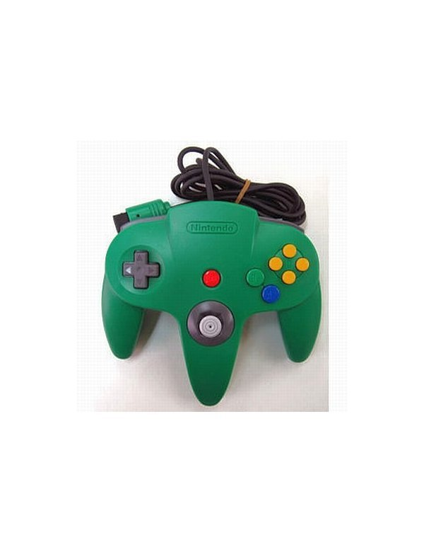 Controller N64 Green -Loose-