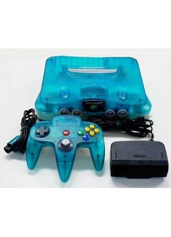 Nintendo 64 Clear Blue -Complete-