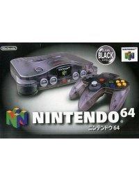 Nintendo 64 Clear Black -Complete-