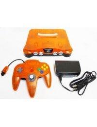 Nintendo 64 Clear Orange 1999 Daiei Hawks Limited -Complete-
