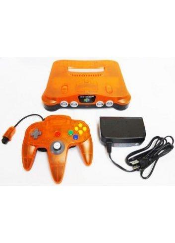 Nintendo 64 Clear Orange 1999 Daiei Hawks Limited -Loose-